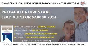 Auditor Advanced Coruse SA8000